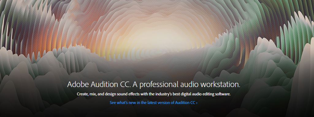 Adobe Audition Professional Audio Workstation