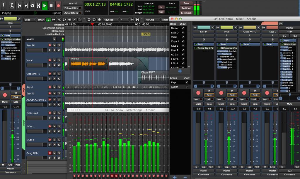 Ardour Digital Software
