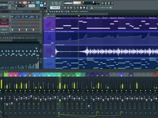 DAWS SOFTWARE LIST | DIGITAL AUDIO WORKSTATIONS