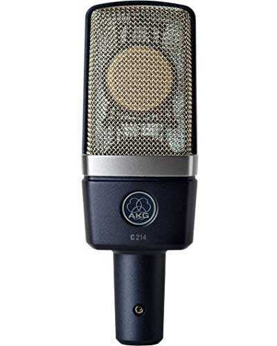 AKG-C214-Large-Diaphragm-Microphone Home Recording