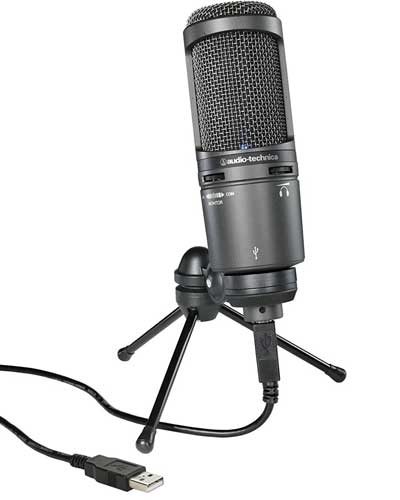 Audio Technica At2020 USB Top Mic