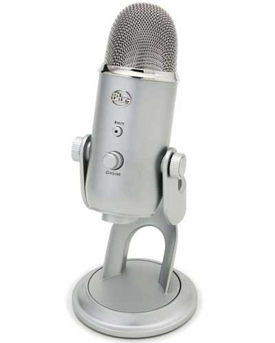 Blue Yeti USB Microphone Studio Recording