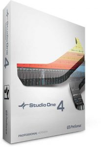 Studio One 4 Professional Software Box