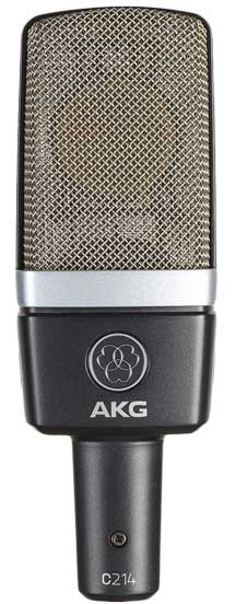 AKG C214 Microphone for Computers