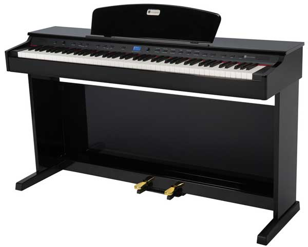 keyboard with weighted keys weighted digital piano. Black Bedroom Furniture Sets. Home Design Ideas